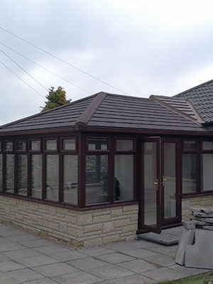 Edwardian Conservatory with Tiled Roof