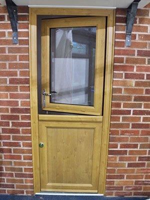 Oak Effect Stable Door