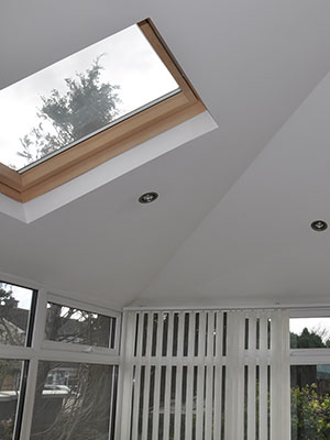 Tiled Roof Conservatory Interior