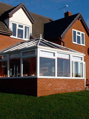 White Edwardian Conservatories