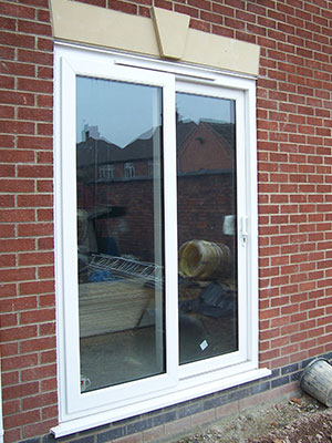 White Patio Doors