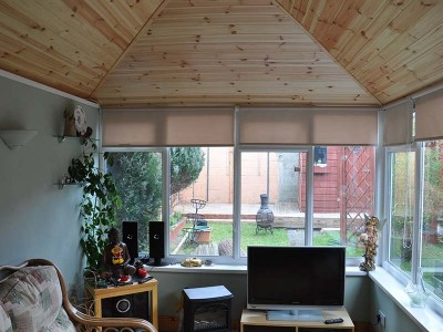 Conservatory Solid Roof Interior
