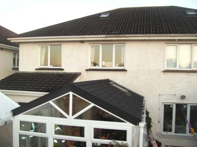 Gable Solid Tile Roof