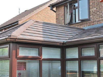 Installing Tiled Conservatory Roof