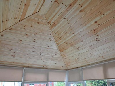 Solid Roof Conservatory Interior