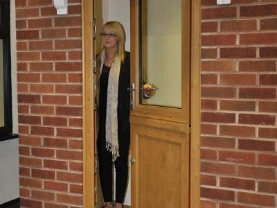 Stable Door Fully Open