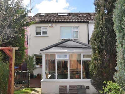 Tiled Roof extension installation