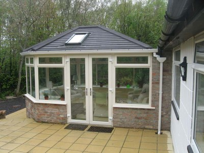 Tiled Roof with Skylight
