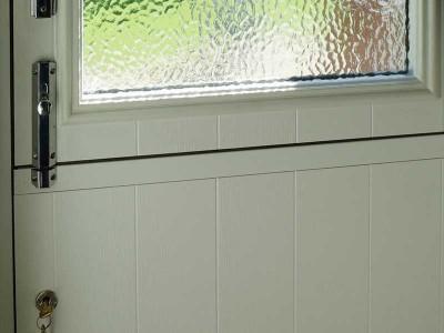 White Solidor Stable Door