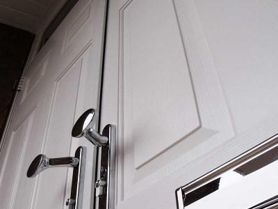 White Solidor Composite door
