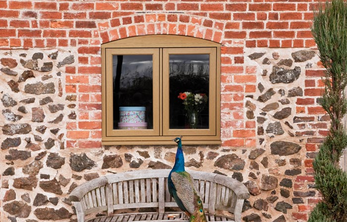 Traditional style windows from Residence 9
